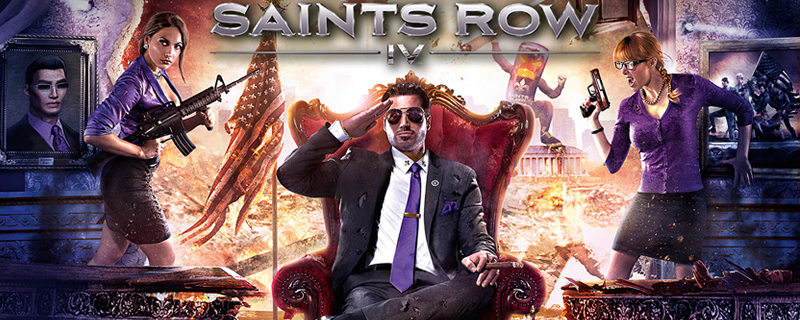 Saints Row 4 is free to play this weekend