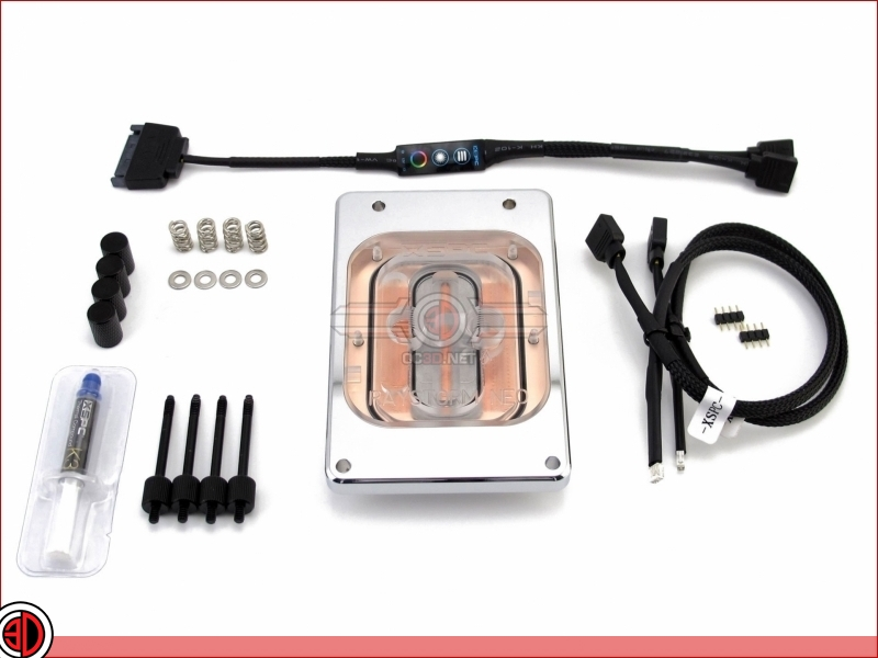 XSPC announced their new Raystorm Neo Threadripper series CPU water block