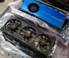 An AMD RX Vega 56 triple fan Prototype has been pictured