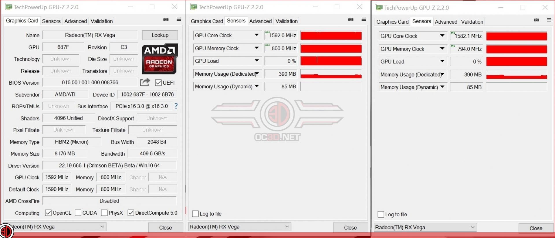 AMD RX Vega 64 and Vega 56 Review   Test Setup and Clock
