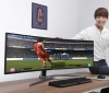 Samsung showcases their CHG90 49-inch 3840x1080 display at Gamescom