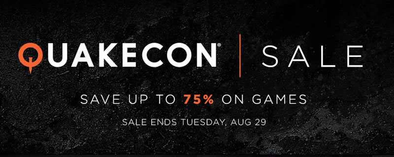 The Steam QUAKECON Sale is now on