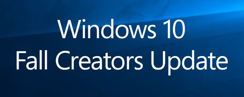Windows 10 Fall Creators Update will have an updated