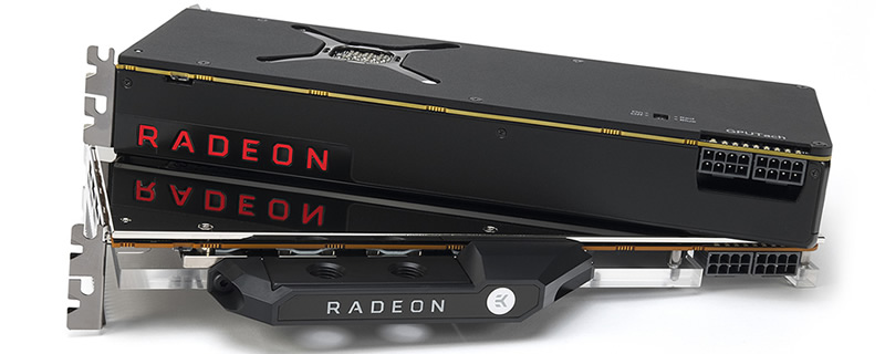 EK showcases the benefits of watercooling AMD's RX Vega GPUs