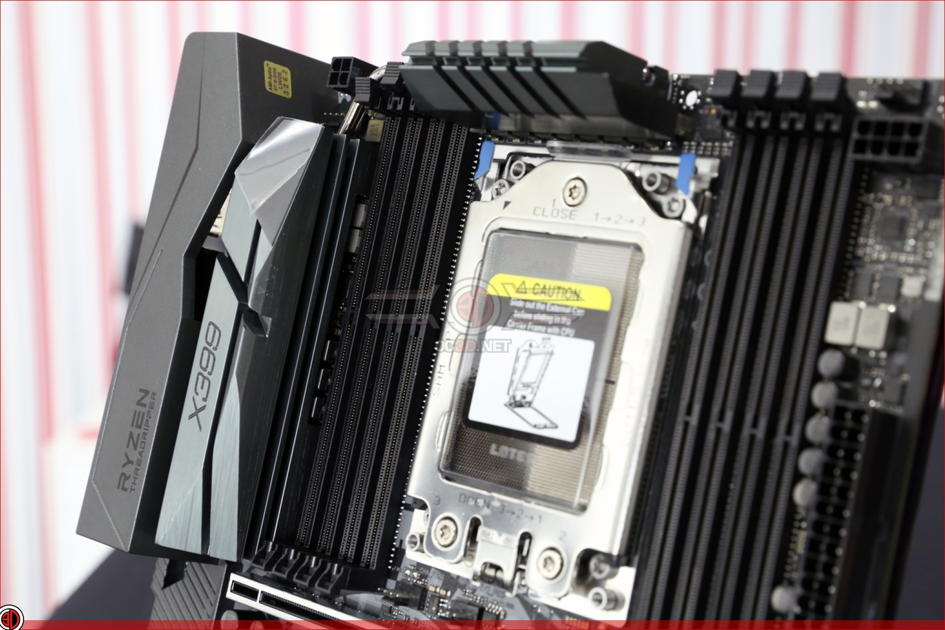 ASRock Taichi X399 Review   VRM Cooling   CPU & Mainboard