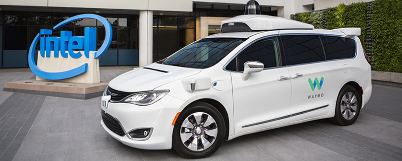 Waymo and Intel will be working together to create self-driving car technology