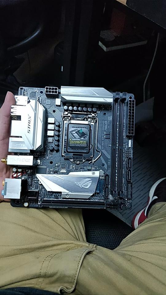 ASUS' ROG Z370-I Strix motherboard has been pictured