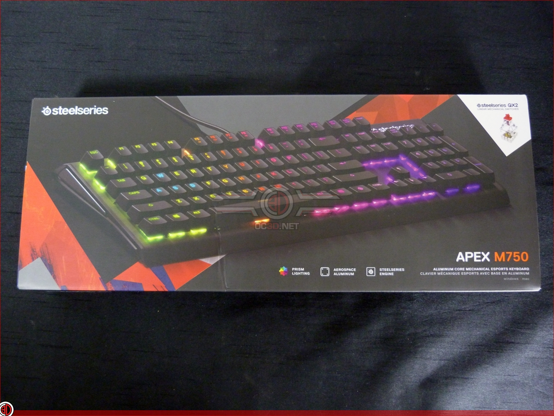 Steelseries Apex M750 Gaming Keyboard Review   Up Close