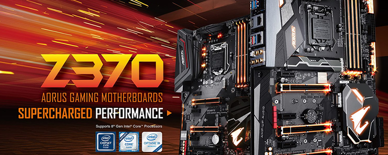 Gigabyte reveals 9 new Z370 motherboards