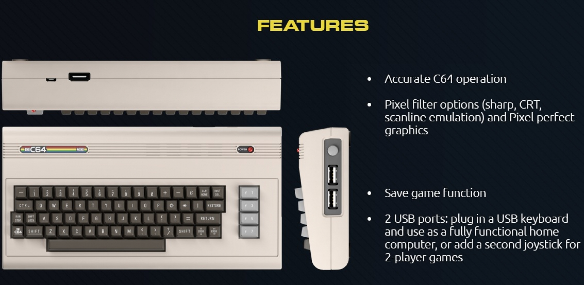The Commodore 64 is getting a retro-mini remake | OC3D News