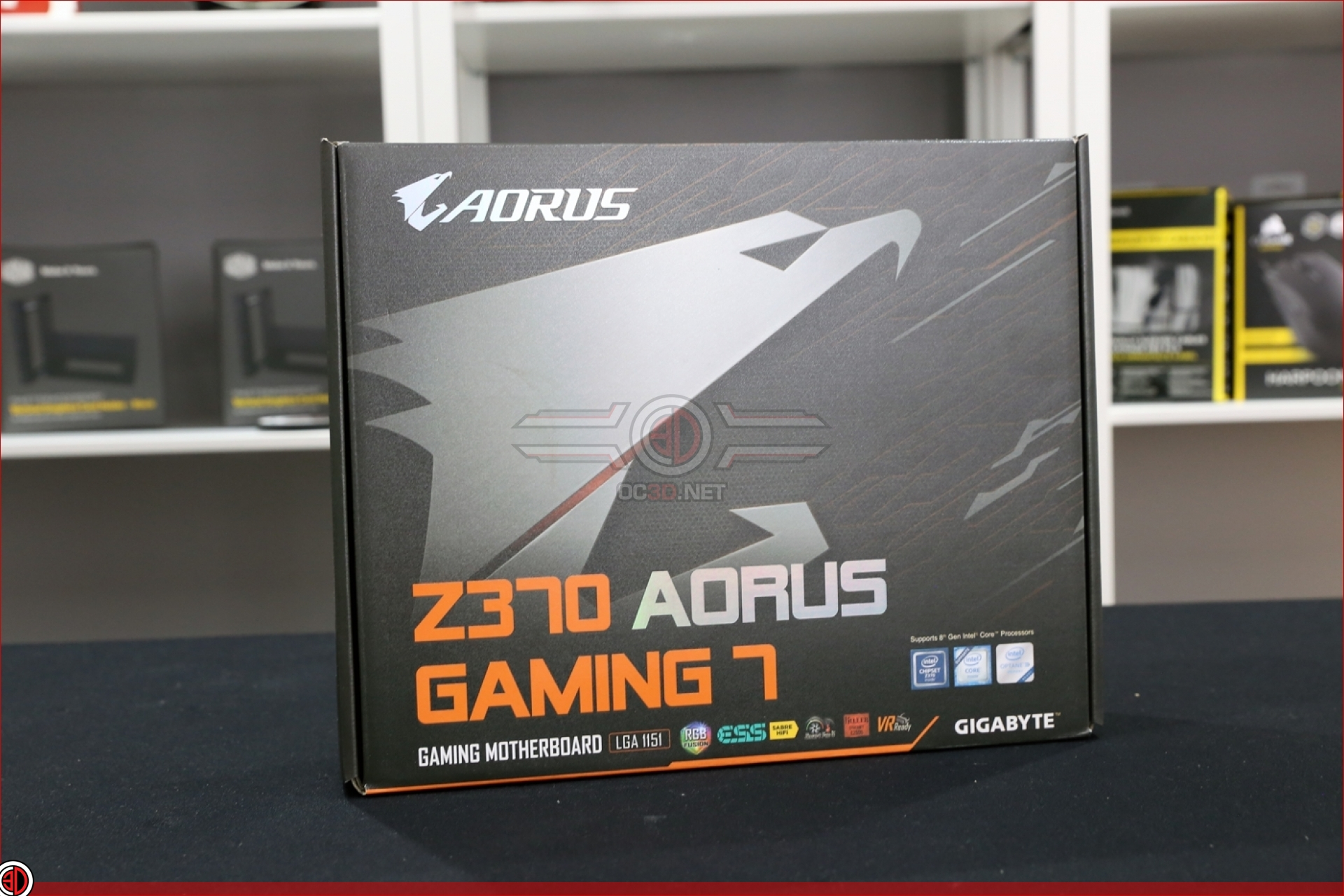 Gigabyte Z370 Aorus Gaming 7 Preview | Up Close | CPU & Mainboard