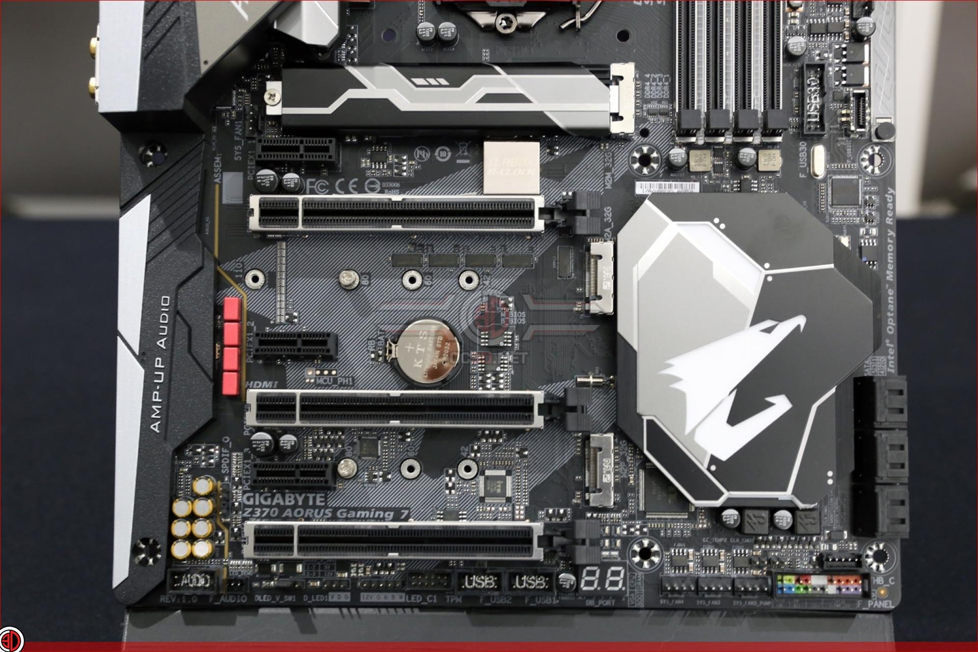 Gigabyte Z370 Aorus Gaming 7 Preview | Up Close | CPU & Mainboard