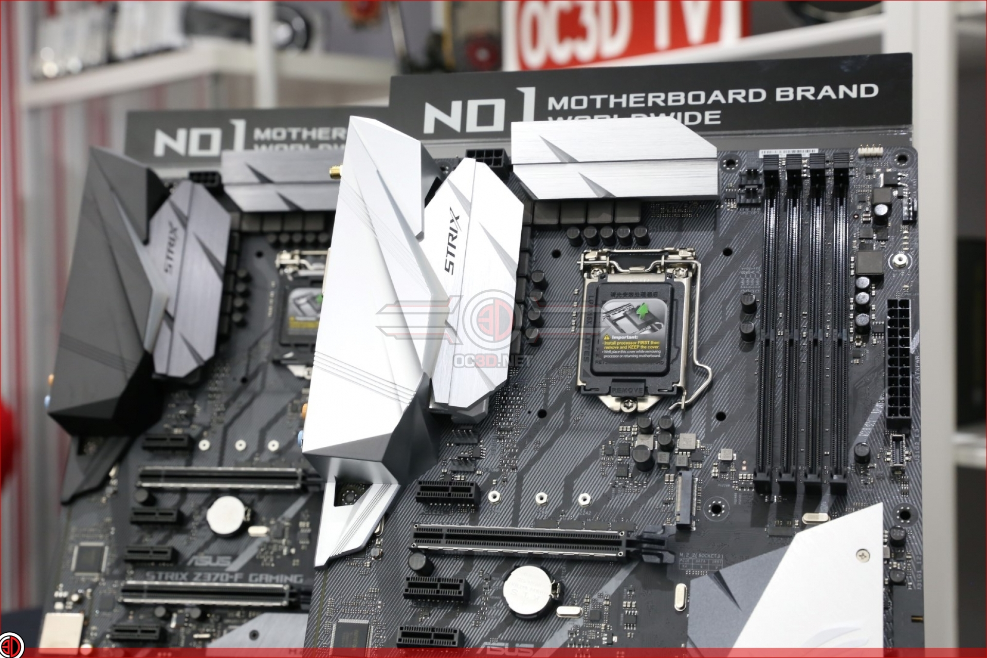 ASUS ROG Strix Z370-E & Z370-F Gaming Preview | Introduction