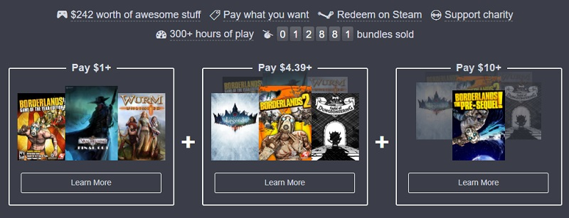 The Humble Endless RPG Lands Bundle is now live