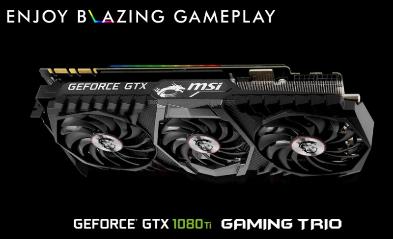 MSI GTX 1080 Ti Gaming X Trio Preview