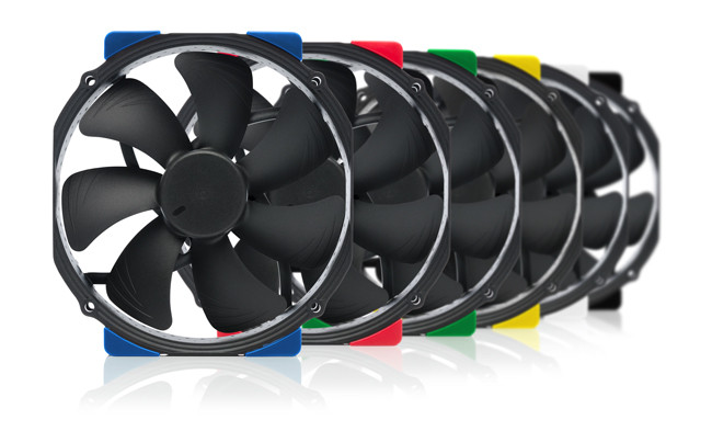 Noctua start making black fans with the new Chromax series