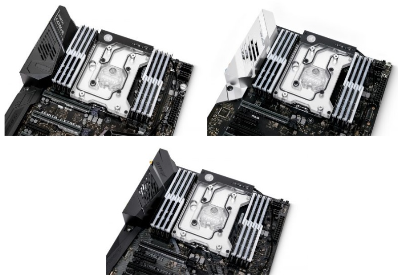 EK has released a water cooling monoblock for ASUS' X399 motherboards