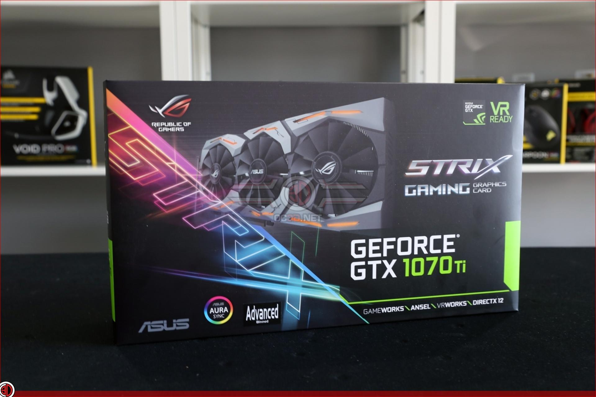 ASUS Strix GTX 1070 Ti Preview | Up Close | GPU & Displays | OC3D Review