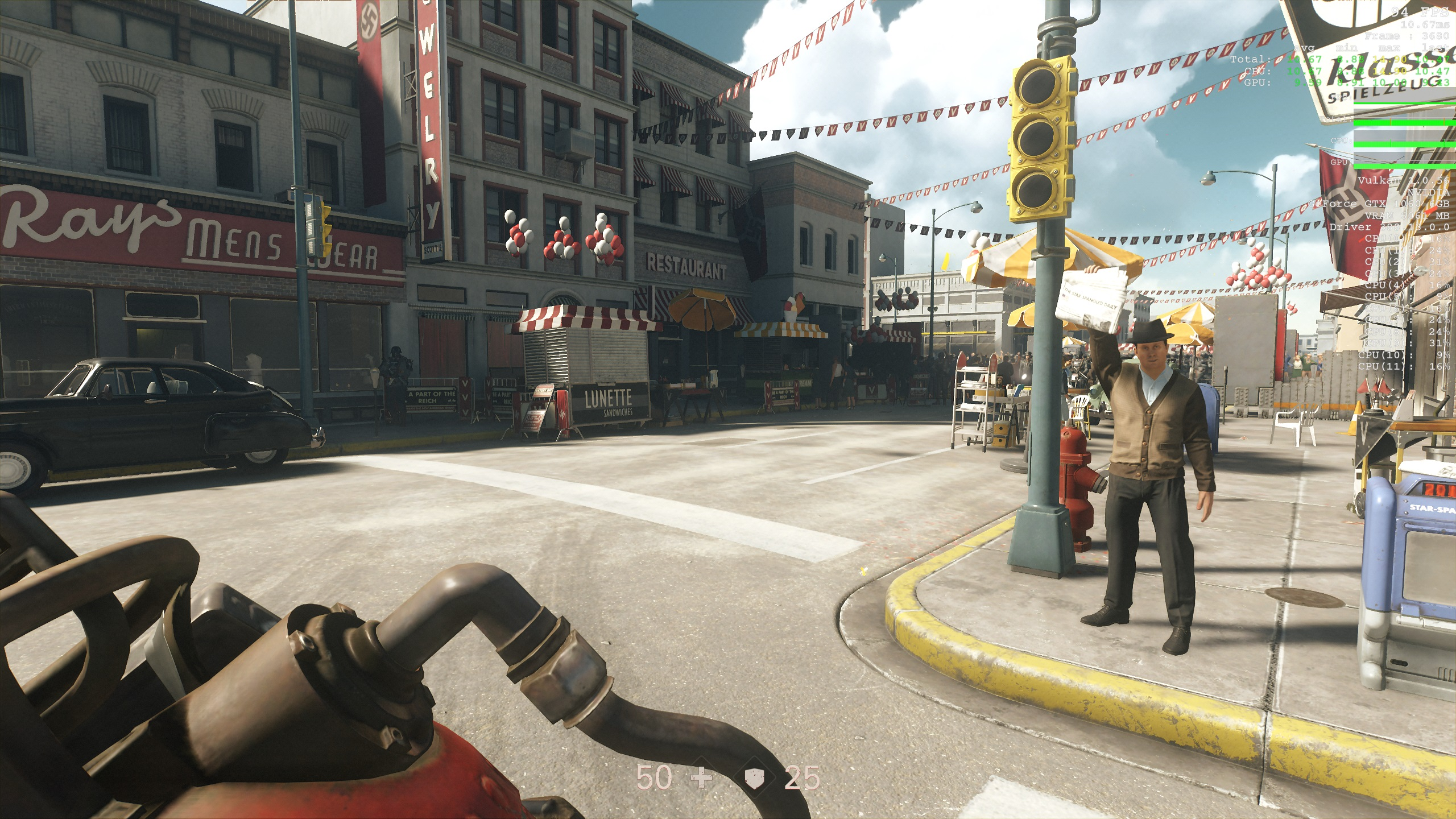Wolfenstein II: The New Colossus PC Performance Review | High
