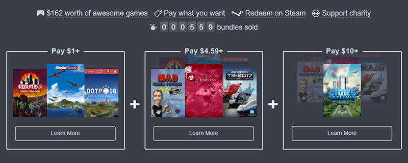 The Humble Strategy Simulator Bundle is now live