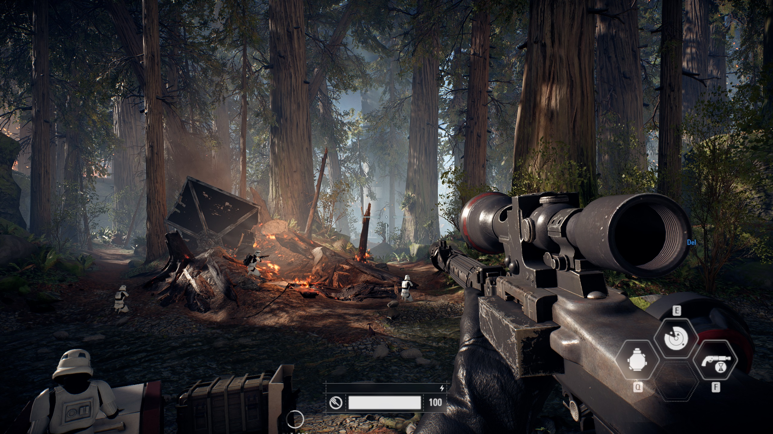 Star Wars Battlefront Ii Trial Pc Performance Review High Resolution Screenshot Graphical Comparison Low To Ultra Settings Software Oc3d Review