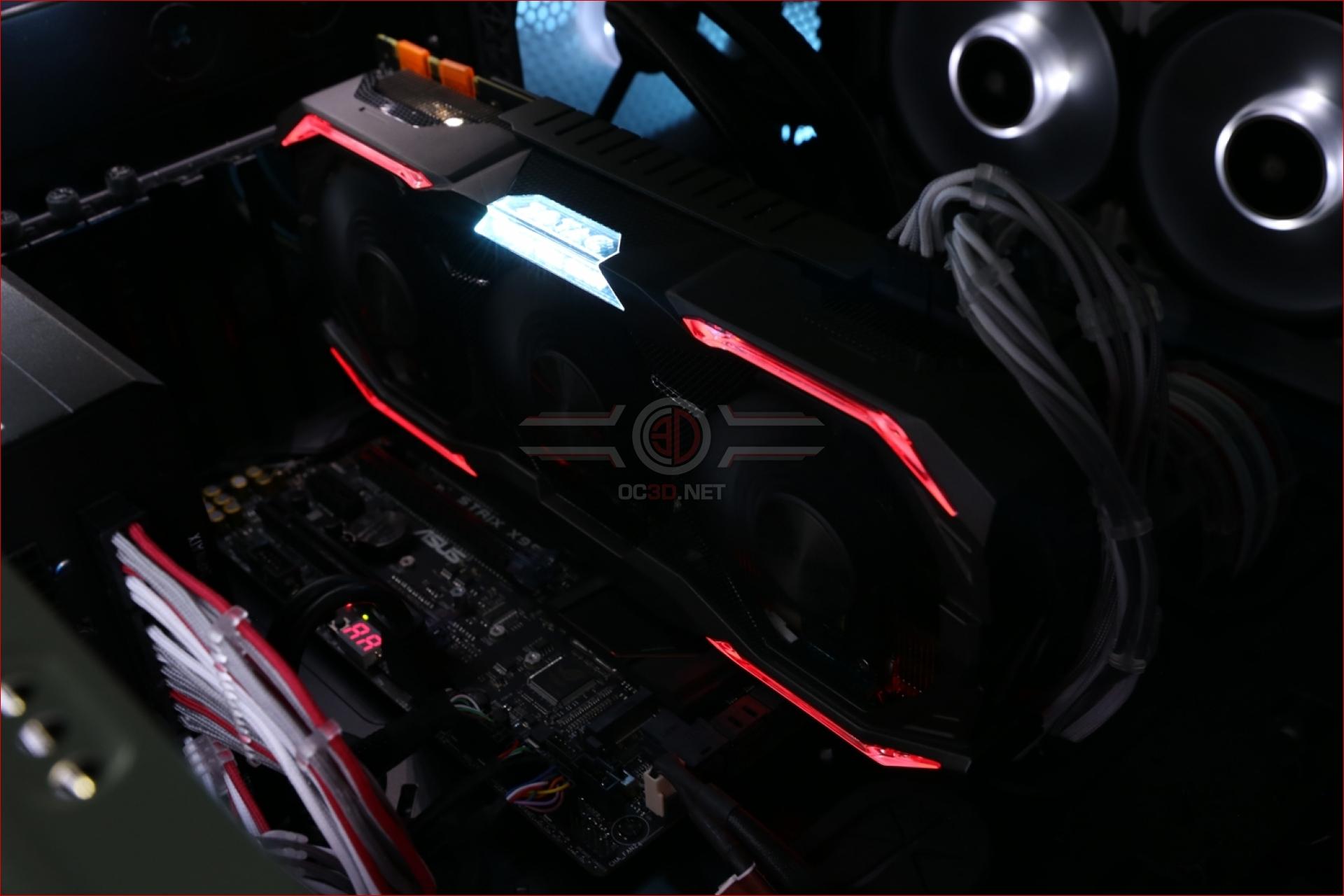 Zotac GTX 1070 Ti AMP! Extreme Review | Lighting | GPU & Displays
