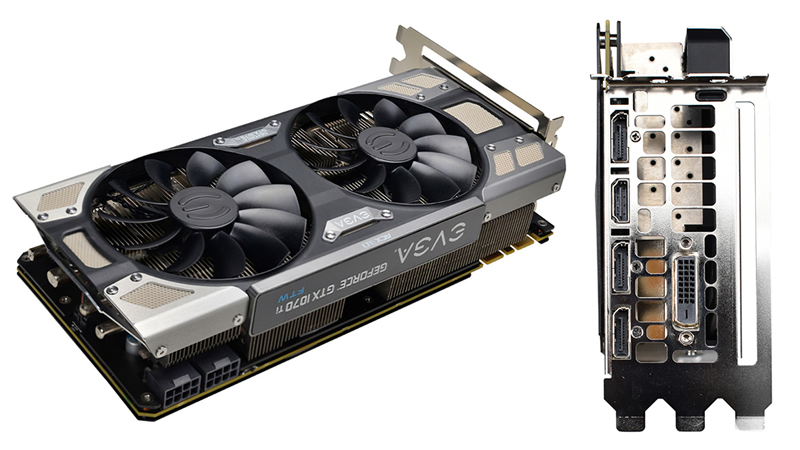 EVGA has launched their GTX 1070 Ti FTW Ultra Silent Edition Graphics Card