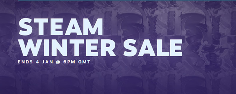 Steam's Winter Sale has begun