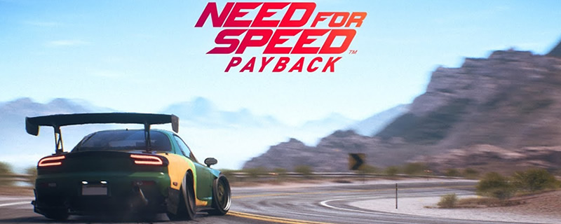 Need for Speed: Payback will soon have an Online Free Roam mode