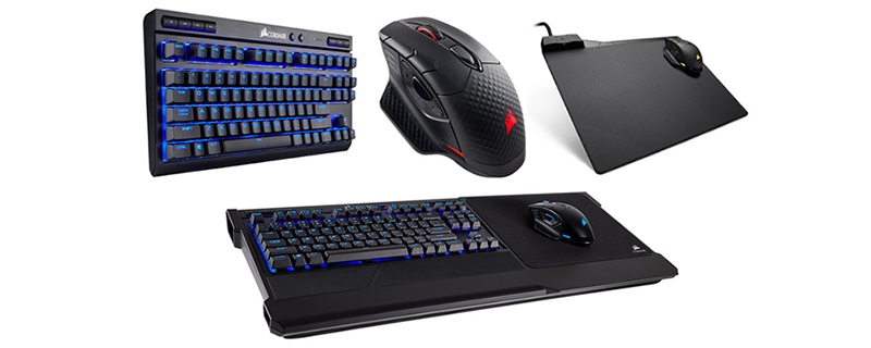 Corsair releases a range of wireless gaming devices