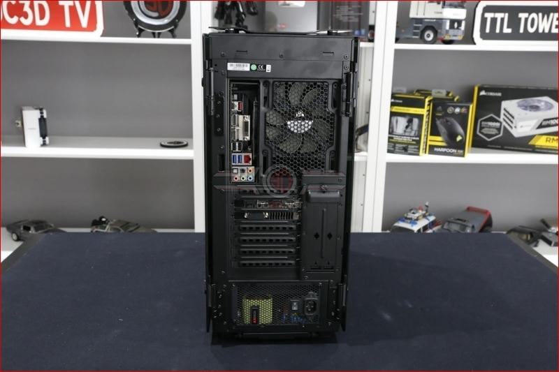 Corsair Obsidian 500d Review Vertical Mounted Gpus Hdd
