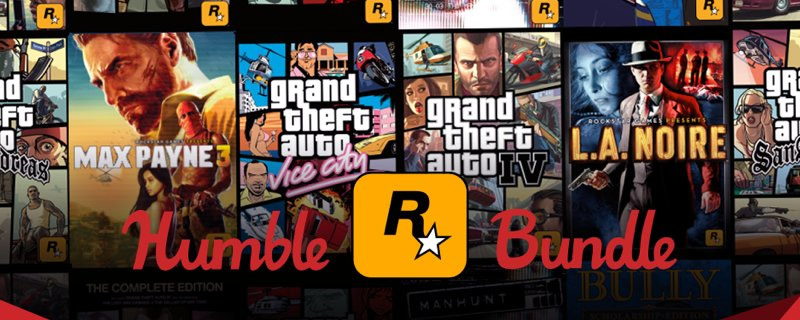 The Humble Rockstar Bundle has been released