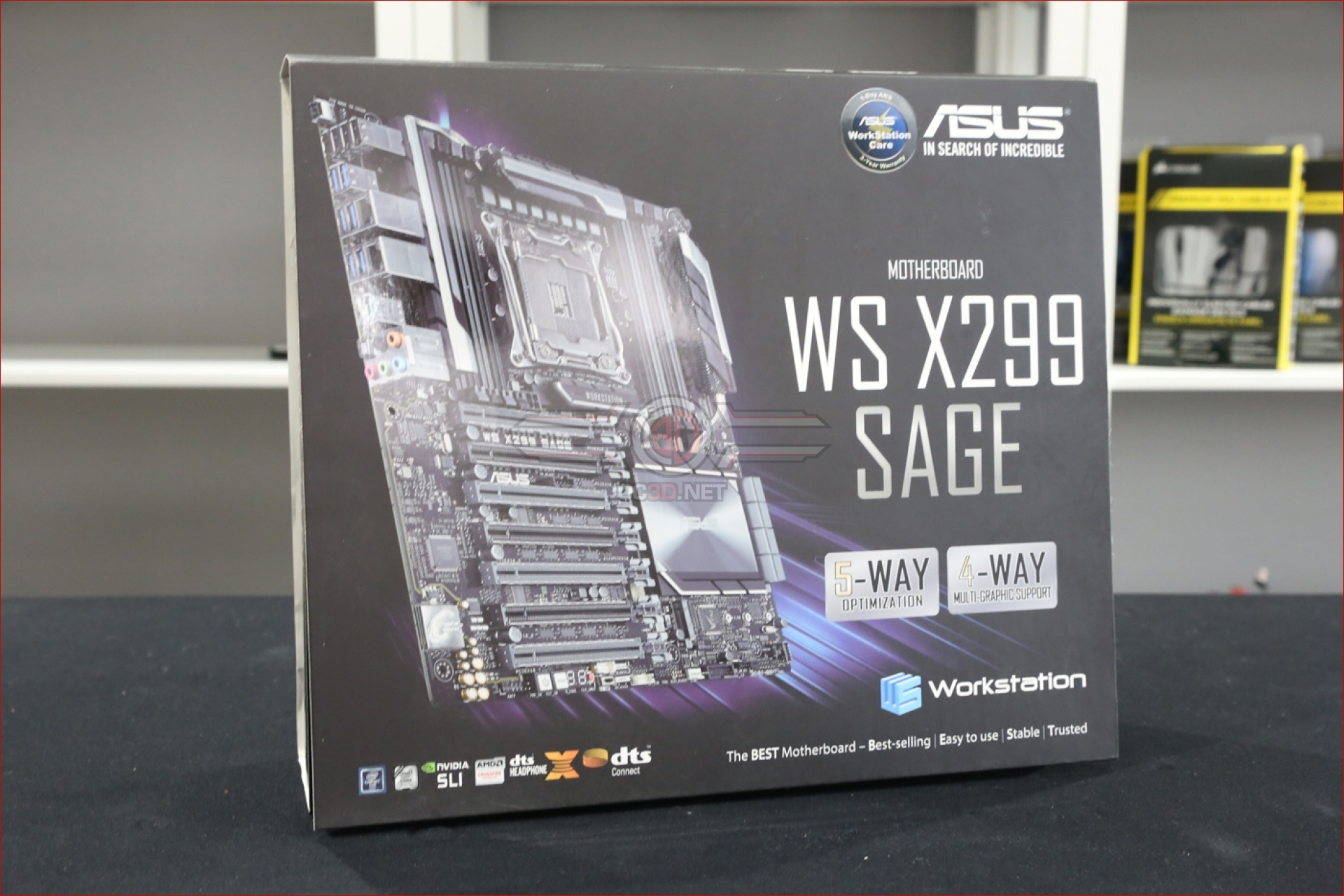 ASUS WS X299 Sage Work Station Motherboard Review | Up Close