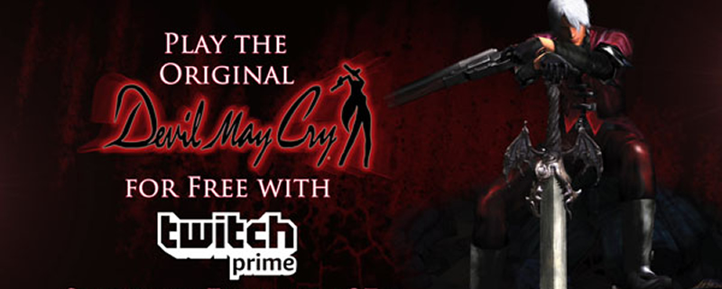 Devil May Cry's upcoming PC version will be free on Twitch Prime later this month