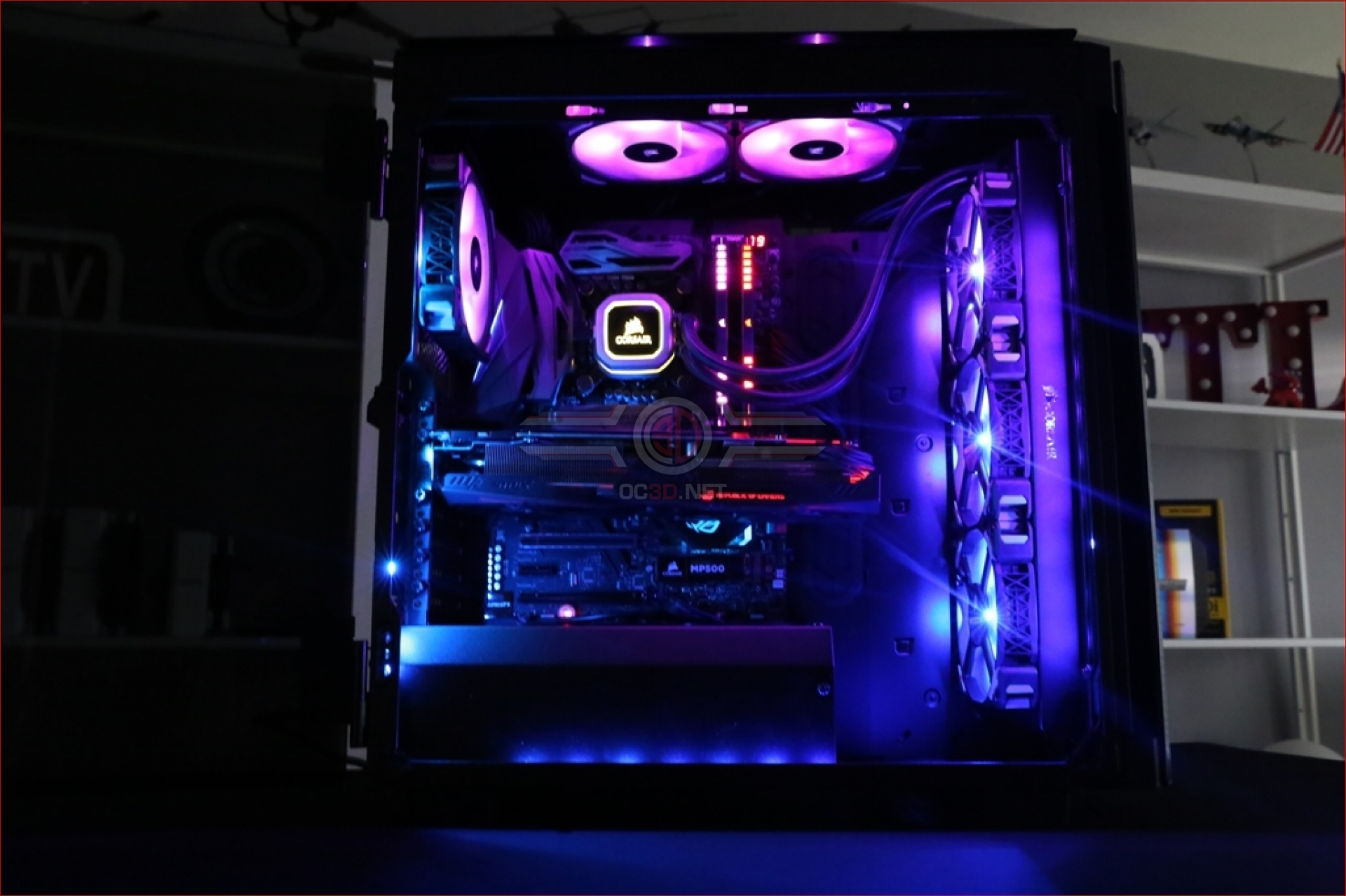 Corsair Obsidian 500D Review | Compo Entry Page | Cases