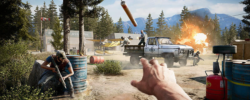 Far Cry 5's graphical options menu has been revealed