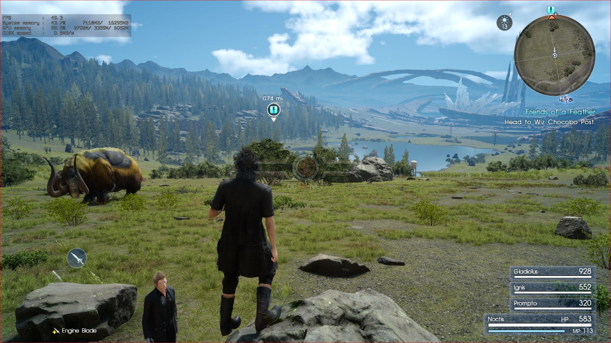 Final Fantasy XV: Windows Edition PC Performance Review