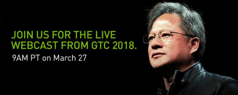 Watch Nvidia's GPU Technology Conference Keynote here