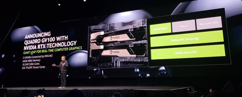 Nvidia reveals their Quadro GV100 Volta GPU | OC3D News