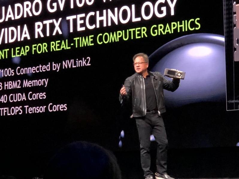 Nvidia reveals their Quadro GV100 Dual Volta GPU