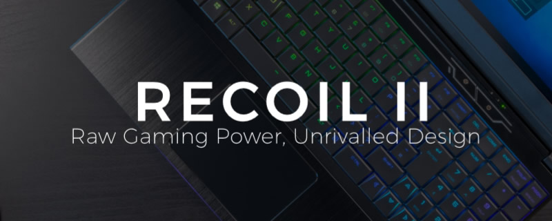 PC Specialist reveals their RECOIL II Gaming Notebook