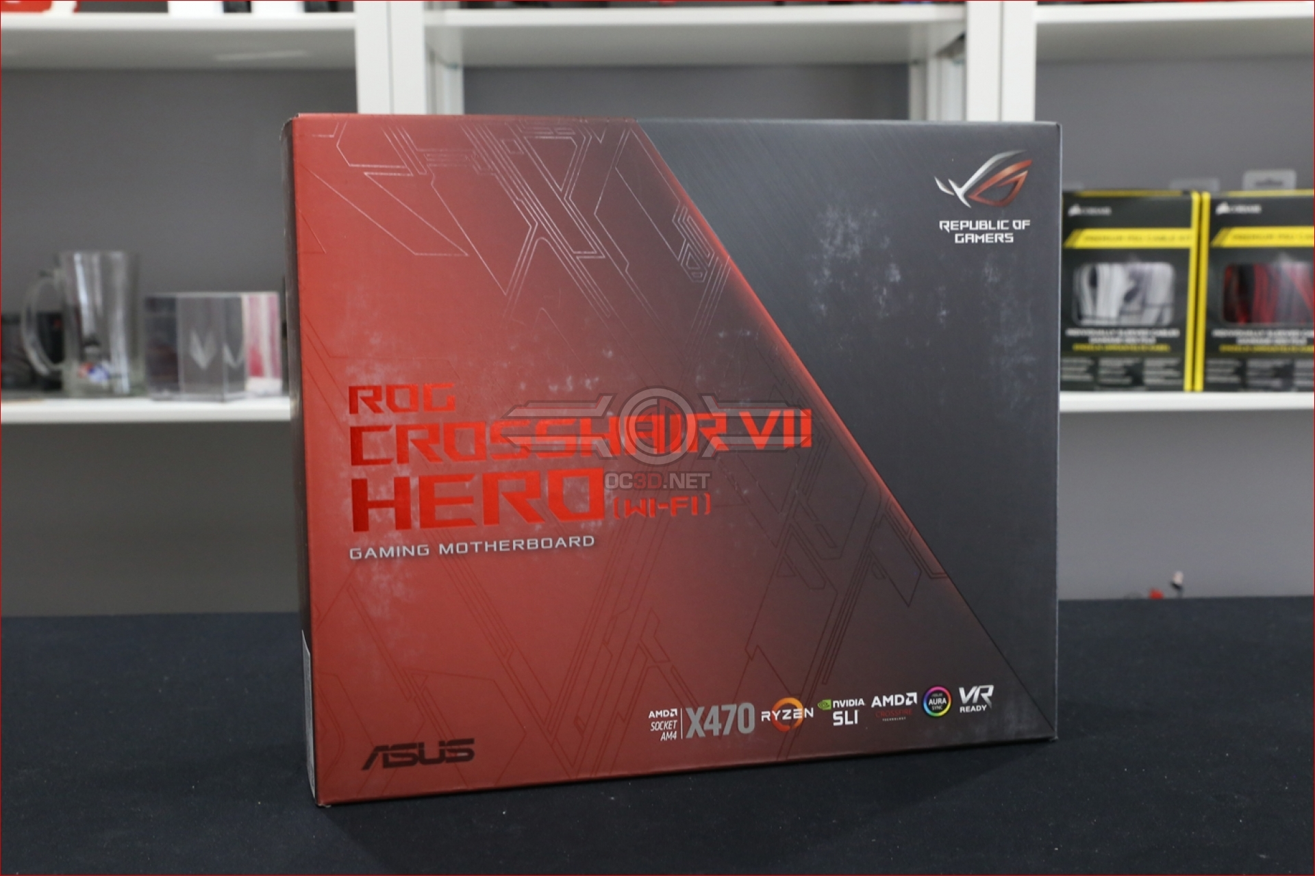 ASUS ROG X470 Crosshair VII Hero Preview | Introduction and
