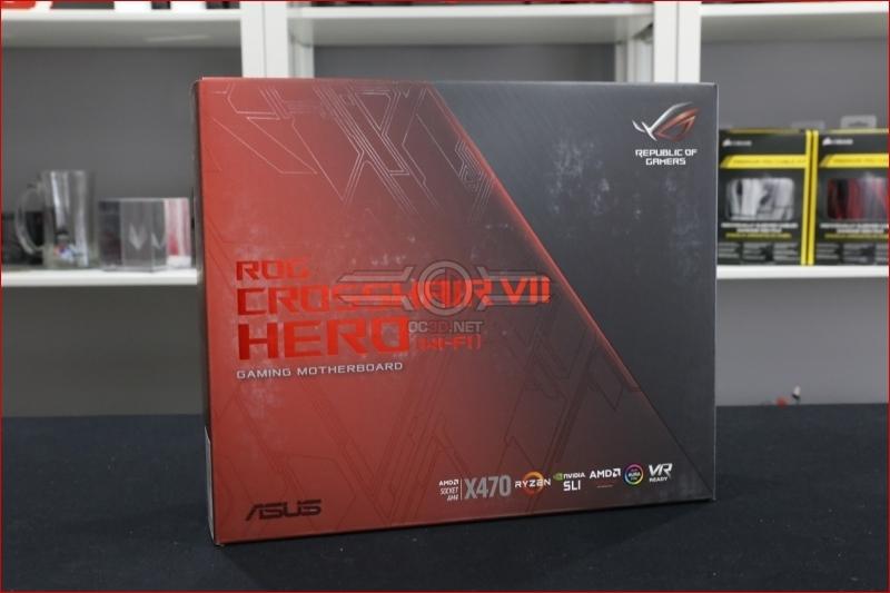 ASUS ROG X470 Crosshair VII Hero Preview