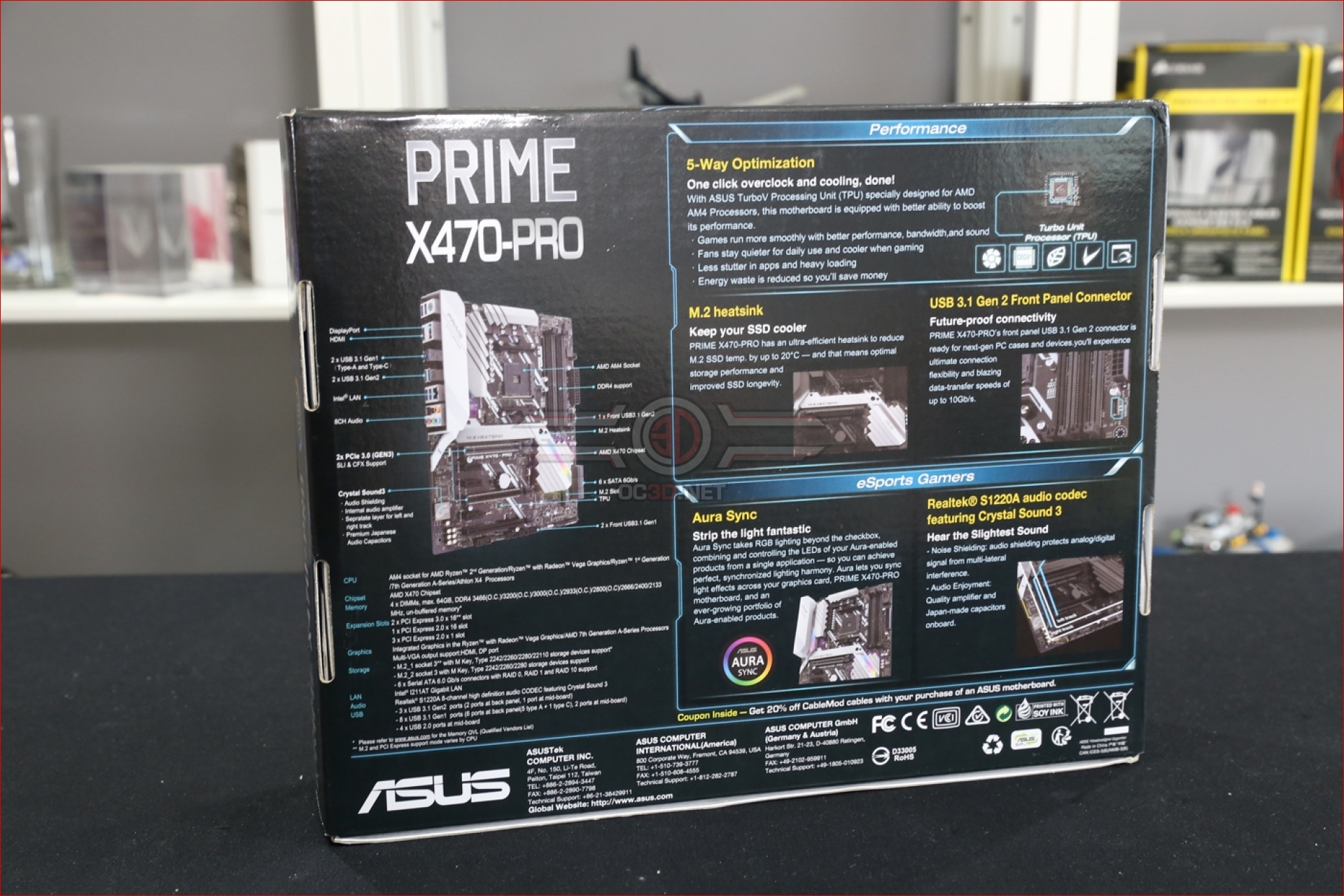 ASUS Prime X470-Pro Preview | Introduction and Up Close | CPU