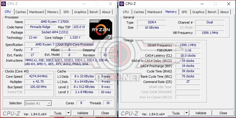 MSI X470 Gaming M7 AC Review | Test Setup and Overclocking | CPU