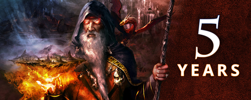 Eador. Masters of the Broken World is now free on Steam
