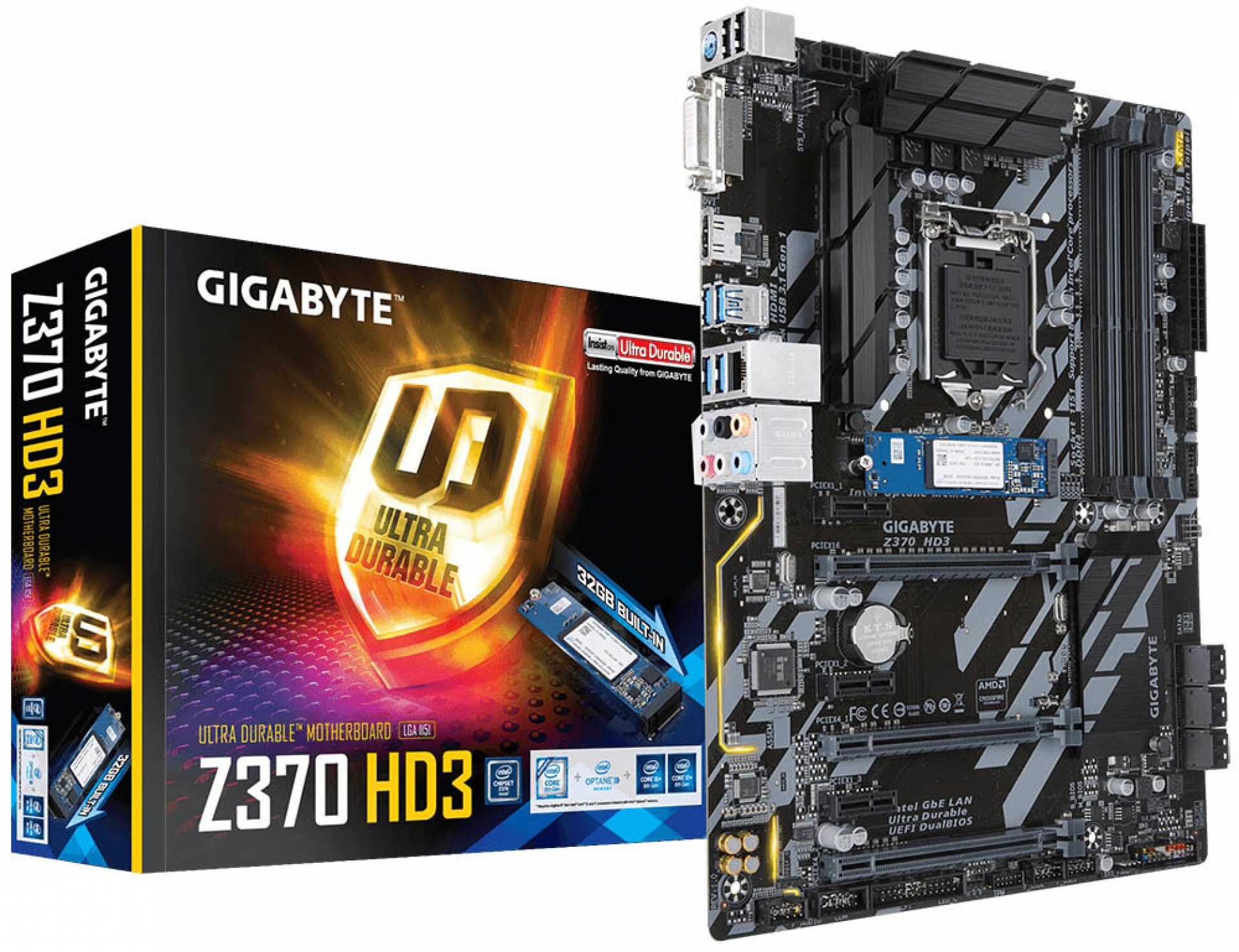 Gigabyte reveals Z370 motherboards with built-in Optane