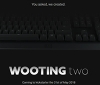 The Wooting Two Analog Gaming Keyboard has been announced