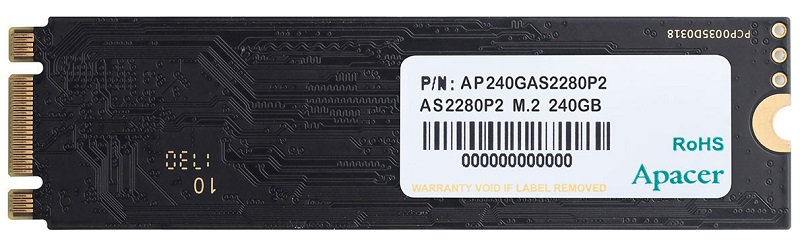 Apacer lanza su AS2290P2 NVMe SSD para el mercado de rango medio