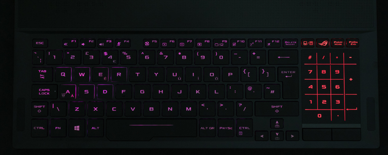 ASUS ROG Zephyrus GX501G Gaming Laptop Review | Passmark | Systems